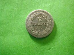 Belg 1/4 FR 1835 - 1831-1865: Leopold I
