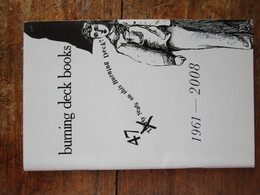 Burning Deck Books 1961-2008 - Poésie