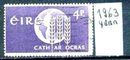 EIRE - IRLANDA - Year 1963 - Usato - Used - Utilisè - Gebraucht . - 1949-... Repubblica D'Irlanda