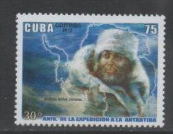 ANTARCTIC,  2012, MNH, ANTONIO JIMENEZ, ANTARCTIC EXPEDITION,1v - Antarctic Expeditions