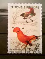 FRANCOBOLLI STAMPS SAO TOME E PRINCIPE 1992 SERIE UCCELLI - Sao Tomé E Principe