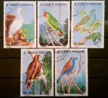 FRANCOBOLLI STAMPS SAO TOME E PRINCIPE 1993 SERIE COMPLETA UCCELLI RARA - Sao Tomé E Principe