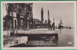 50 - Cherbourg - La Nouvelle Gare Maritime - Le Grand Paquebot Le Bremen Quitte Le Port - Editeur: CAP N°178 - Cherbourg
