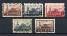 URSS327) 1934 - 10°Anniv.rio Morte Di LENIN  -Serie Cpl5val. USED - 1923-1991 URSS