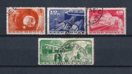 URSS332) 1935 -Inaugurazione Metro Di Mosca - Serie Cpl 4val. USED - 1923-1991 URSS