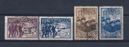 URSS336) 1938 -Missione Polare PAPANIN -Serie Cpl 4val. USED - 1923-1991 URSS
