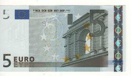 "5 EURO  ""U"" Francia    Firma Trichet     L 026 D3  Charge 67  /  FDS - UNC - EURO"