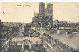 4. REIMS . VUE GENERALE . NON ECRITE - Reims