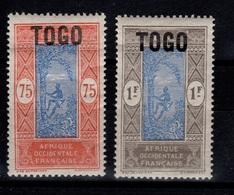 Togo YV 115 & 116 N* MH Cote 4,50 Euros - Neufs