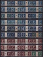 Collection De 70 Millésimes Type Semeuse Camée Pour étude Types Et Nuances - Neufs Avec Charnières - Très Forte Cote - 1906-38 Sower - Cameo