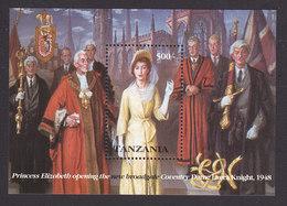Tanzania, Scott #997, Mint Never Hinged, Queen Elizabeth, Issued 1993 - Tanzania (1964-...)