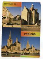 PERIERS --1997--Souvenir De Periers--cachet Rond LE CHESNAY + Flamme --timbre FOOT 98--Lyon - Altri Comuni