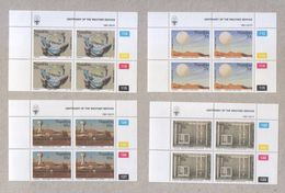 Namibia 1991 Centenary Of The Weather Service Blocks Of Stamps MNH - Namibia (1990- ...)