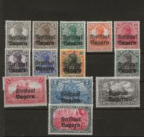 LOTE 1676  ///  (C220)  BABARIA *MH - Bavaria
