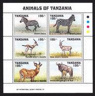 Tanzania, Scott #1026, Mint Never Hinged, Wildlife, Issued 1993 - Tanzania (1964-...)