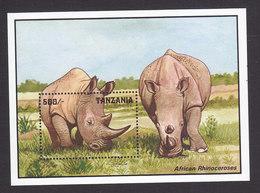Tanzania, Scott #1028, Mint Never Hinged, Wildlife, Issued 1993 - Tanzania (1964-...)