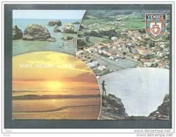 85 ST HILAIRE Sur MER ... Carte Multi Vues - Vue Aerienne ... (cpsm) - Saint Hilaire De Riez