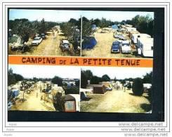 85  ST HILAIRE DE RIEZ  Carte Multi-vues Du Camping De La Petite Tenue - Saint Hilaire De Riez