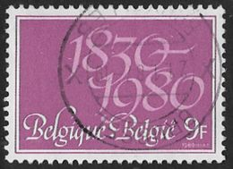 Belgium SG2584 1980 150th Anniversary Of Independence (1st Issue) 9f Good/fine Used [36/30454/6D] - Belgique