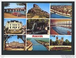 71 MACON ... Carte Multivue  ... (cpsm) - Macon
