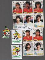 AUTOCOLLANTS ITALIA 1990 ET AUTOCOLLANTS MEXICO 86  PAS EN PANINI - Panini