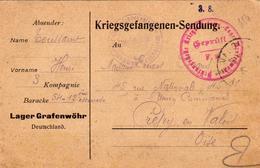 Allemagne - France - Kriegsgefangenenpost - Postkarte De Prisonnier De Guerre - 3 Kompagnie 1915 - Guerre De 1914-18