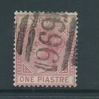Cyprus 1881 1 Piastre QV FU - Cyprus (Republic)