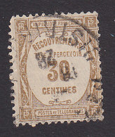 France, Scott #J60, Used, Postage Due, Issued 1927 - Postage Due