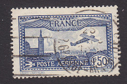 France, Scott #C6, Used, Marseille, Church Of Notre Dame, Issued 1930 - Airmail