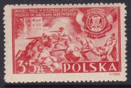 POLAND 1946 Spanish Brigade Fi 401 Mint Never Hinged - Ungebraucht
