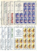 1980 OLYMPIC GAMES - Moscow All Issue 1 To 6 In Sheet - MNH BULGARIA / Bulgarie - Verano 1980: Moscu