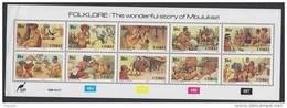 D101006 Ciskei 1988 South Africa NUDES OXEN BIRDS Folklore Strip  MNH - Afrique Du Sud Afrika RSA Sudafrika - Ciskei