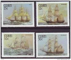 D90819 Ciskei South Africa 1985 SAILING SHIPS MNH Set - Afrique Du Sud Afrika RSA Sudafrika - Ciskei