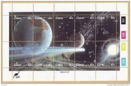 D90819 Ciskei South Africa 1986 SPACE HALLEYS COMET MNH Set - Afrique Du Sud Afrika RSA Sudafrika - Ciskei
