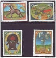 D90819 Ciskei South Africa 1987 TRADITIONAL CHILDREN TOYS MNH Set - Afrique Du Sud Afrika RSA Sudafrika - Ciskei