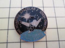Pin1015c Pin's Pins / Rare Et De Belle Qualité  : ESPACE / MISSION NAVETTE SPATIALE SPACELAB 2 - Space