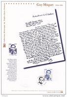"""FRANCE 2007 : """" GUY MÔQUET """" Sur Document Philatélique Officiel N° YT 4107. DPO - Guerre Mondiale (Seconde)"""
