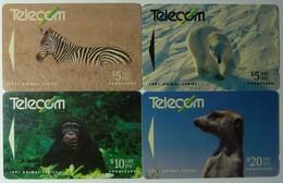 NEW ZEALAND - GPT - Animals 1991 - $20 - Set Of 4 - NZ-G-33 To 36 - 9NZL - Used - New Zealand