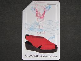ITALIA SIP - 3245 C&C 154 GOLDEN - PRIVATE PUBBLICHE - GASPARI - USATA - Private-Omaggi