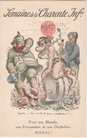 Carte Postale Ancienne—CPA—Willette—1917—Semaine De La Charente Inférieure - Weltkrieg 1914-18