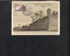 Carte Maximum Brouage 1955 - 1950-59