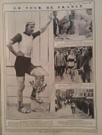 1907 LE TOUR DE FRANCE CYCLISTE - COURSE AUTOMOBILE - ZÉLÉLÉ CHAUFFEUR MARQUIS DE DION - VOITURES MORS - PONT L'EVEQUE - Unclassified