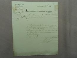 D'epartement De L' Escaut Schelde Departement Dendermonde Termonde Frans Bewind 1809 Brief Aan Burgemeester Van Hamme - Historical Documents