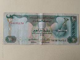 10 Dirhams 2002 - United Arab Emirates
