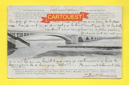 CPA 30 PONT St ESPRIT Pont Sur Le Rhône 1911 - Pont-Saint-Esprit
