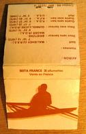 POCHETTE D'ALLUMETTES AVIRON HOMMES SKIFF 1972 MALISHEV U.R.S.S DEUX SANS BARREUR BRIETZKE-MAGER R.D.A - Boites D'allumettes