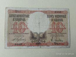 10 Lek 1939 - Albania