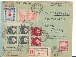 CHAP001 /  CHINA - Manchouku 1931, Einschreiben Nach Prag - Sonstige