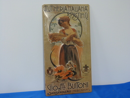 "Plaque Métal ""BUITONI"" - Levensmiddelen"