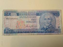 2 Dollari 1980 - Barbados